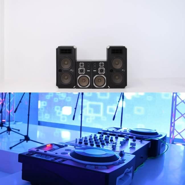 撮影スタジオ「スタジオクオリア新大阪店」のステージスタジオのブース02