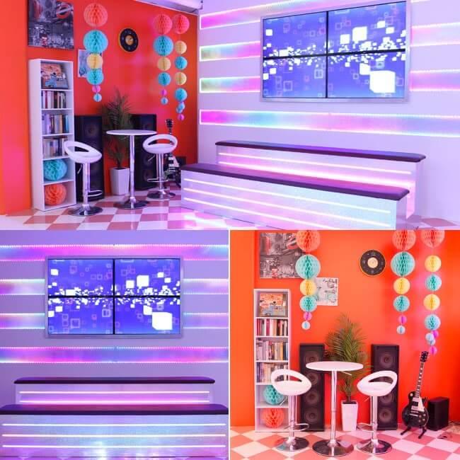 撮影スタジオ「スタジオクオリア新大阪店」のステージスタジオのブース03