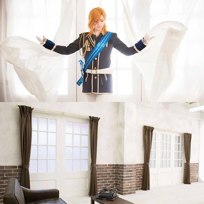 撮影スタジオ「スタジオクオリア新大阪店」のホワイトⅡスタジオのブース01